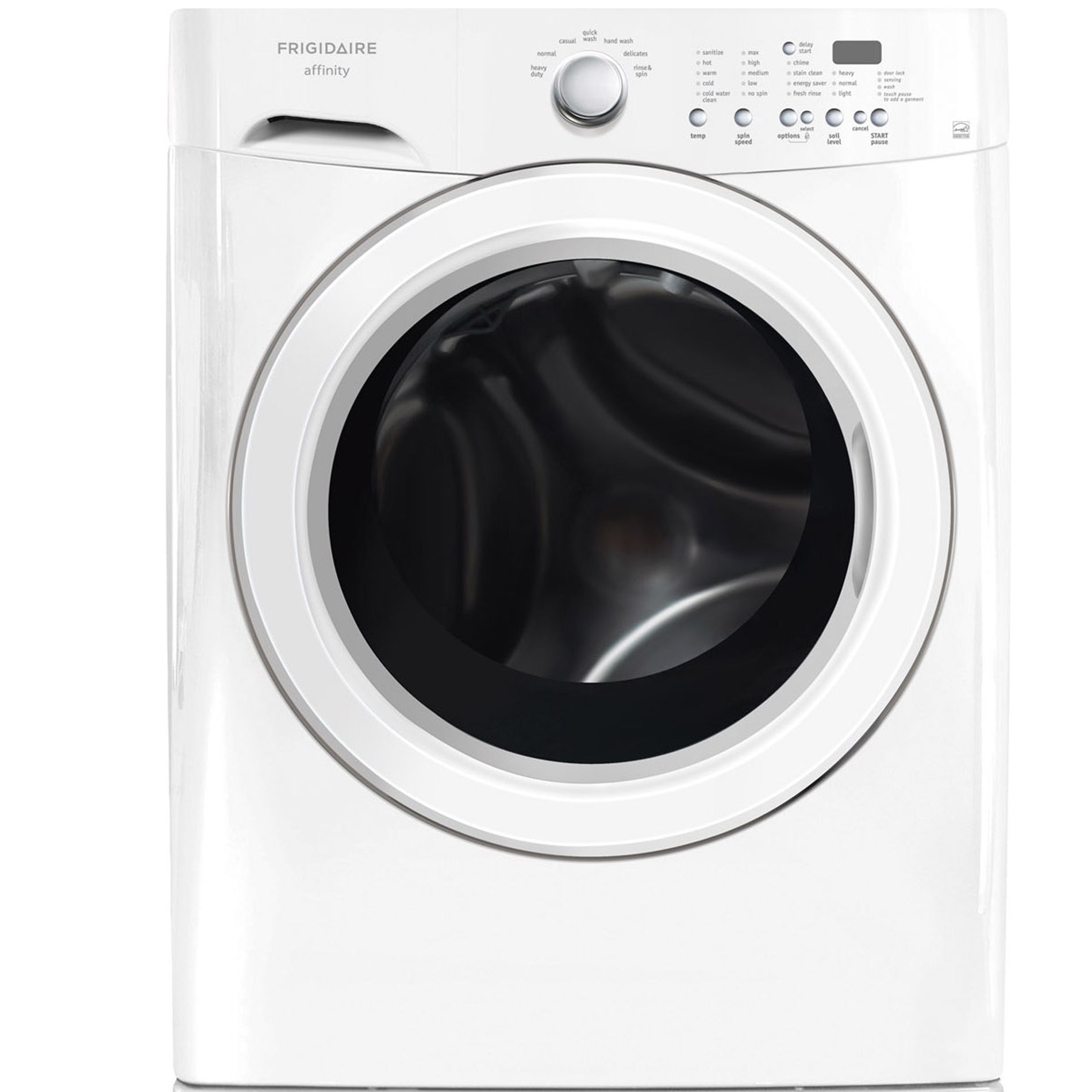 3.7 cu. ft Front-Load Washer w/1000-Watt