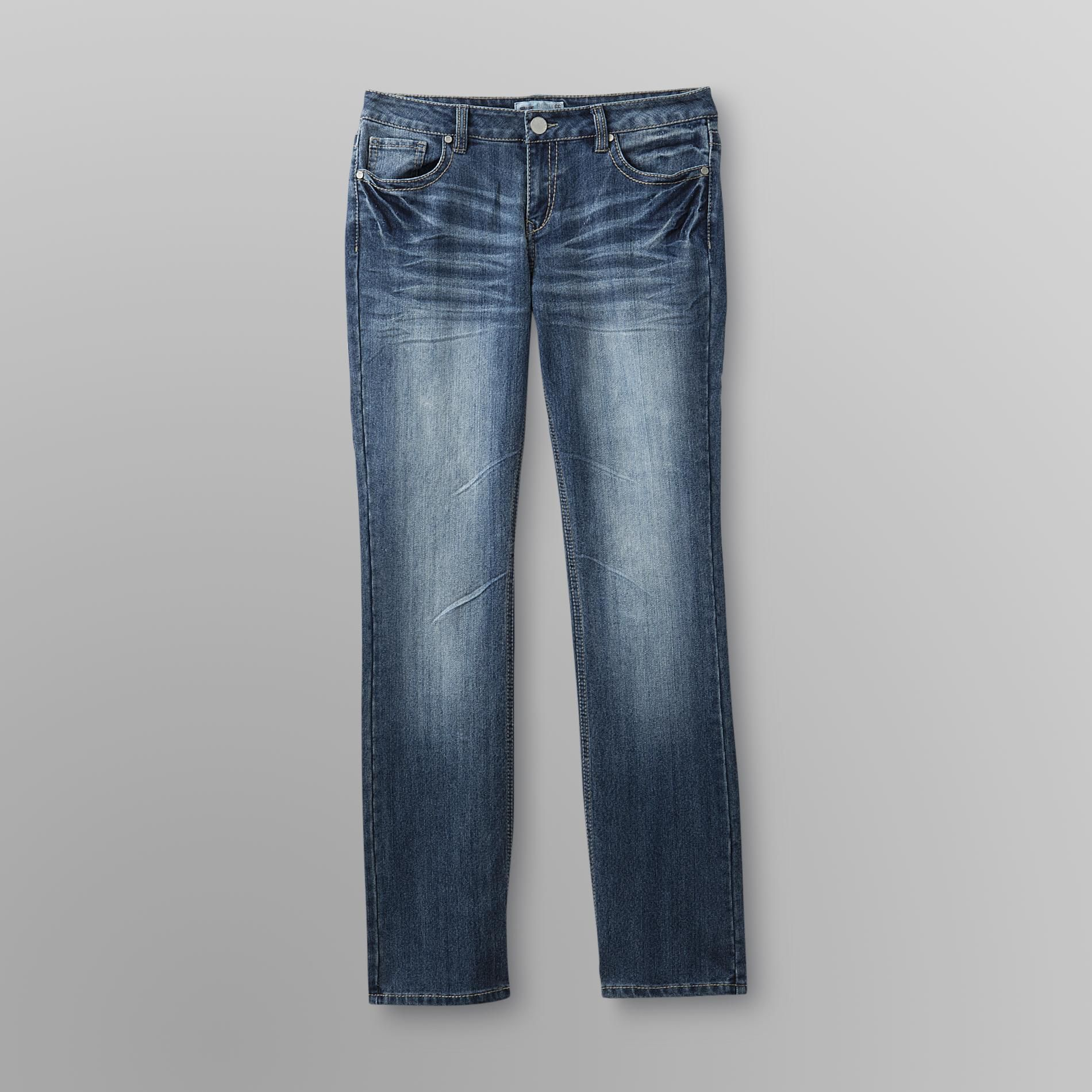 Route 66 Women's Low Rise Straight Leg Jeans at Kmart.com