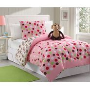 Furry Friends Monkey Dots 3 Piece Twin Comforter Set at Kmart.com