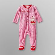 Small Wonders Infant Girl's Sleeper Pajamas - Cupcake at Kmart.com