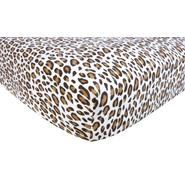 Trend-Lab Flannel Crib Sheet - Leopard Cream at Kmart.com
