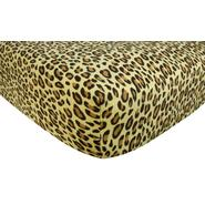 Trend-Lab Flannel Crib Sheet - Leopard Tan at Kmart.com