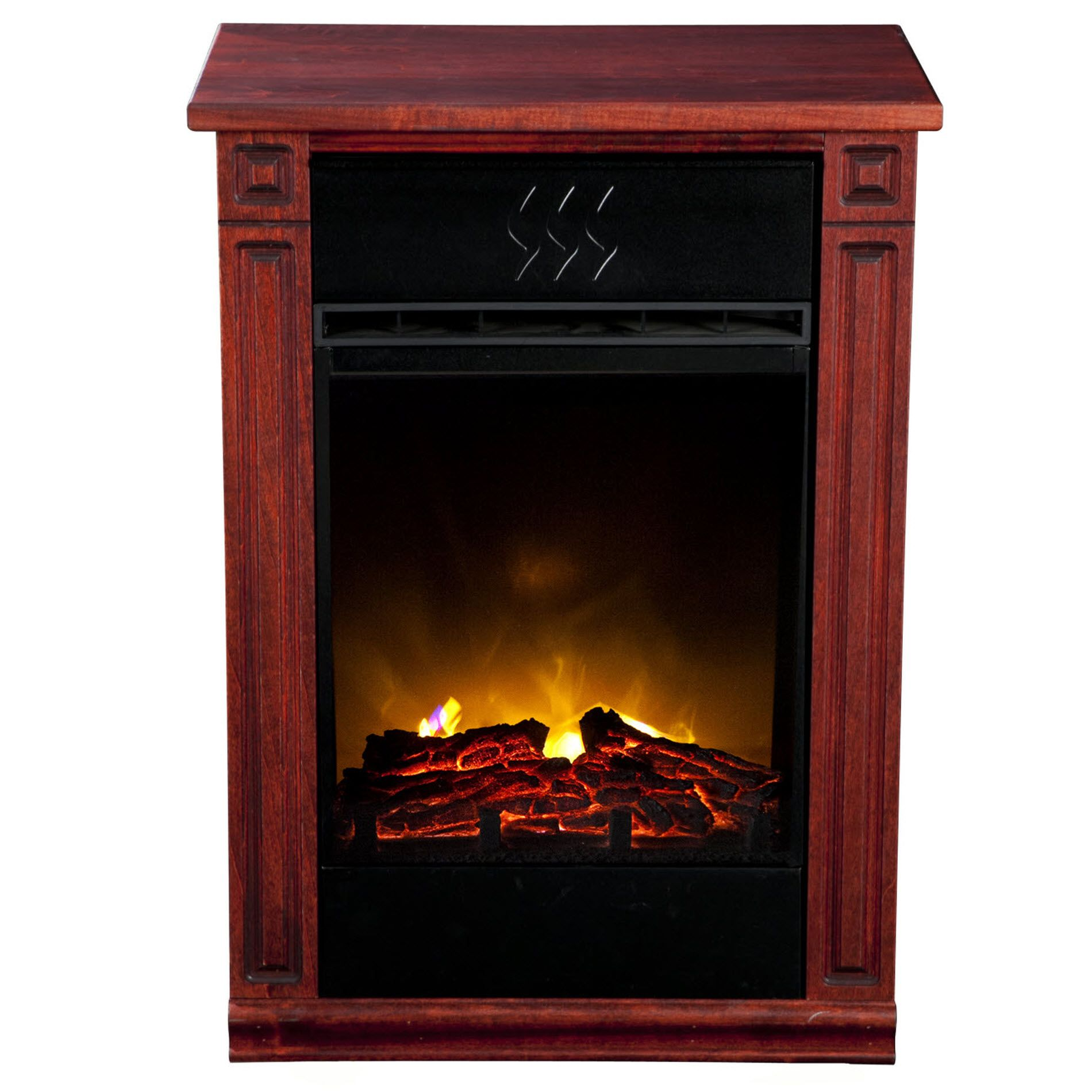 Accent-Electric-Fireplace-Cherry
