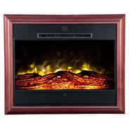 Heat Surge Portrait Wall-Mounted Electric Fireplace  - Cherry at Kmart.com
