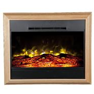 Heat Surge Portrait Wall-Mounted Electric Fireplace  - Light Oak at Kmart.com