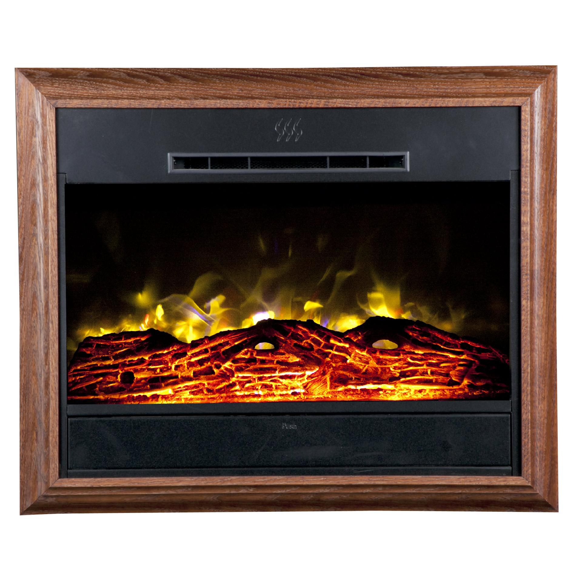 Portrait Wall-Mounted Electric Fireplace -