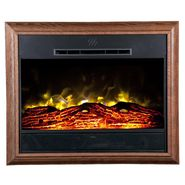 Heat Surge Portrait Wall-Mounted Electric Fireplace  - Dark Oak at Kmart.com