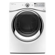 Whirlpool Duet® 7.4 cu. ft. Gas Dryer w/ Advanced Moisture Sensing - White at Sears.com
