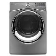 Whirlpool Duet® 7.4 cu. ft. Electric Dryer w/ Advanced Moisture Sensing - Chrome Shadow at Kmart.com