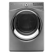 Whirlpool Duet® 7.4 cu. ft. Electric Dryer w/ Tap Touch Controls - Chrome Shadow at Sears.com