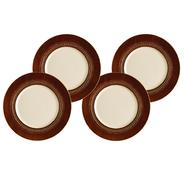 Paula Deen 4-Piece Dinner Plate Set-Southern Gathering, Chestnut, 11-Inch at Kmart.com