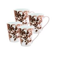 Paula Deen 4-Piece Mug Set-Tatnall Street, Coffee Bean, 11-Ounce at Kmart.com