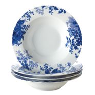 Paula Deen 4-Piece Soup Bowl Set-Tatnall Street, Bluebell, 8.5-Inch at Kmart.com