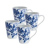 Paula Deen 4-Piece Mug Set-Tatnall Street, Bluebell, 11-Ounce at Kmart.com