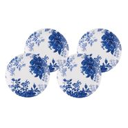 Paula Deen 4-Piece Salad Plate Set-Tatnall Street, Bluebell, 8-Inch at Sears.com
