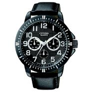 Citizen Men's Quartz Black Ion Plated Day-Date Strap at Sears.com