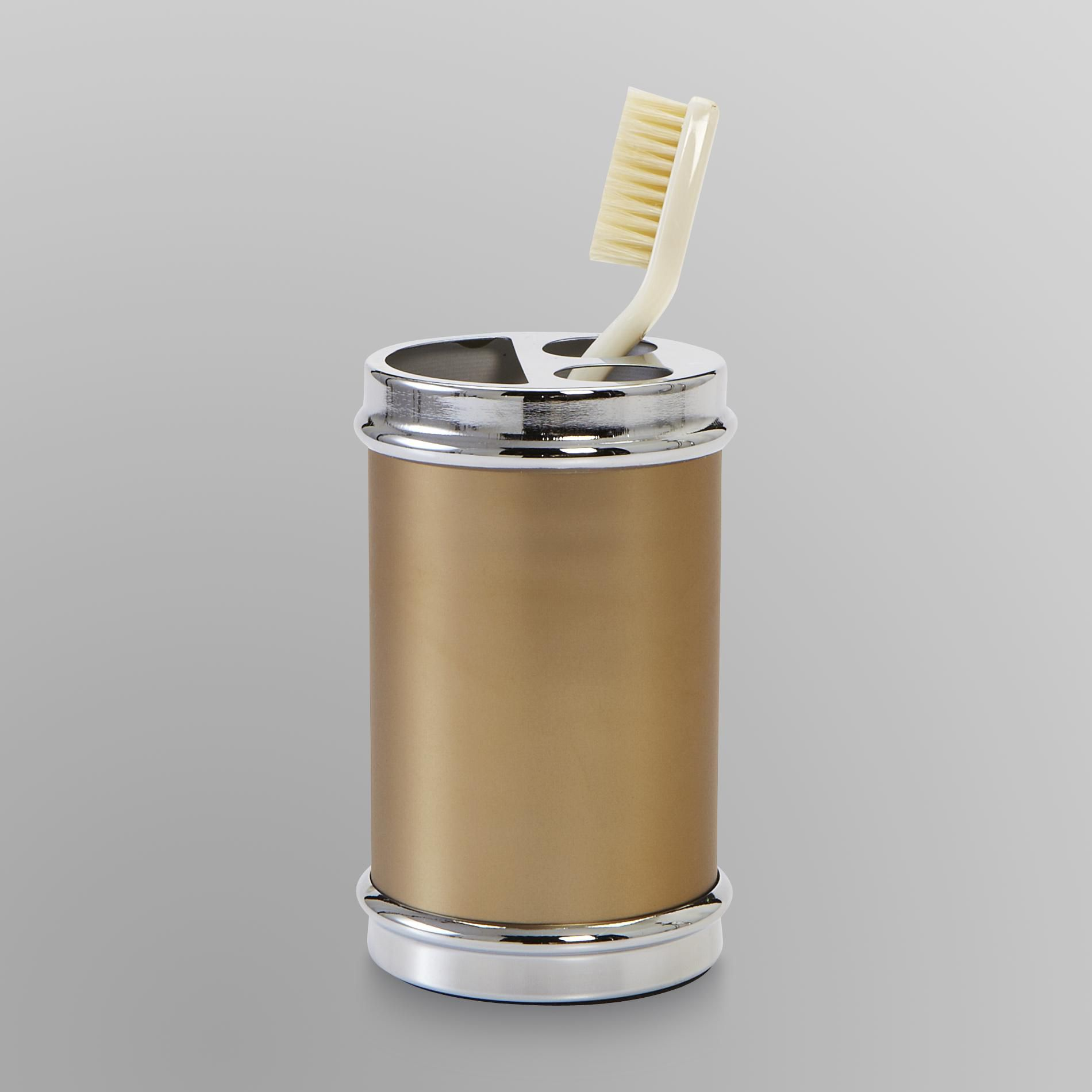 Cannon  Metal Toothbrush Holder