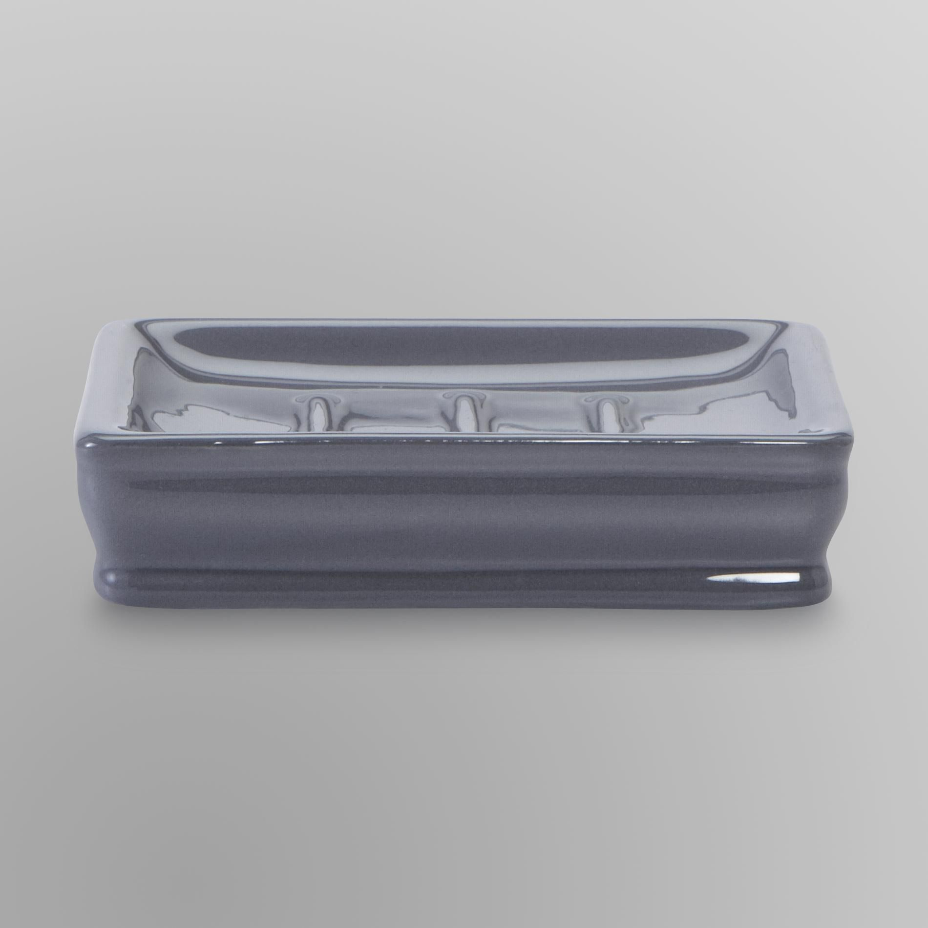 Cannon Soap Dish Steel Grey