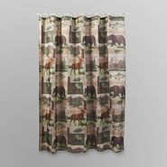 Essential Home Shower Curtain - Wild Lodge at Kmart.com