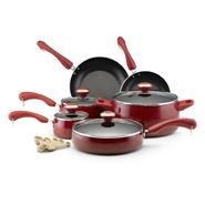 Paula Deen Porcelain Nonstick 15 Piece Set, Red at Kmart.com