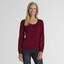 Jaclyn Smith Women's Sequined Sweater - Clearance at Kmart.com