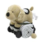 Piccolo Bambino Pull Toy with Baby Quilted Blanket- Beige Dog at Kmart.com