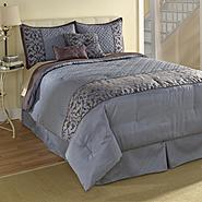 Jaclyn Smith Blue Scroll Comforter Set at Kmart.com