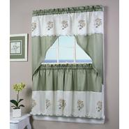 Simply Window Sunflower Kitchen Curtain Tier Pair at Sears.com
