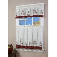Simply Window Vino Kitchen Curtain 54 x 12  Valance at Kmart.com