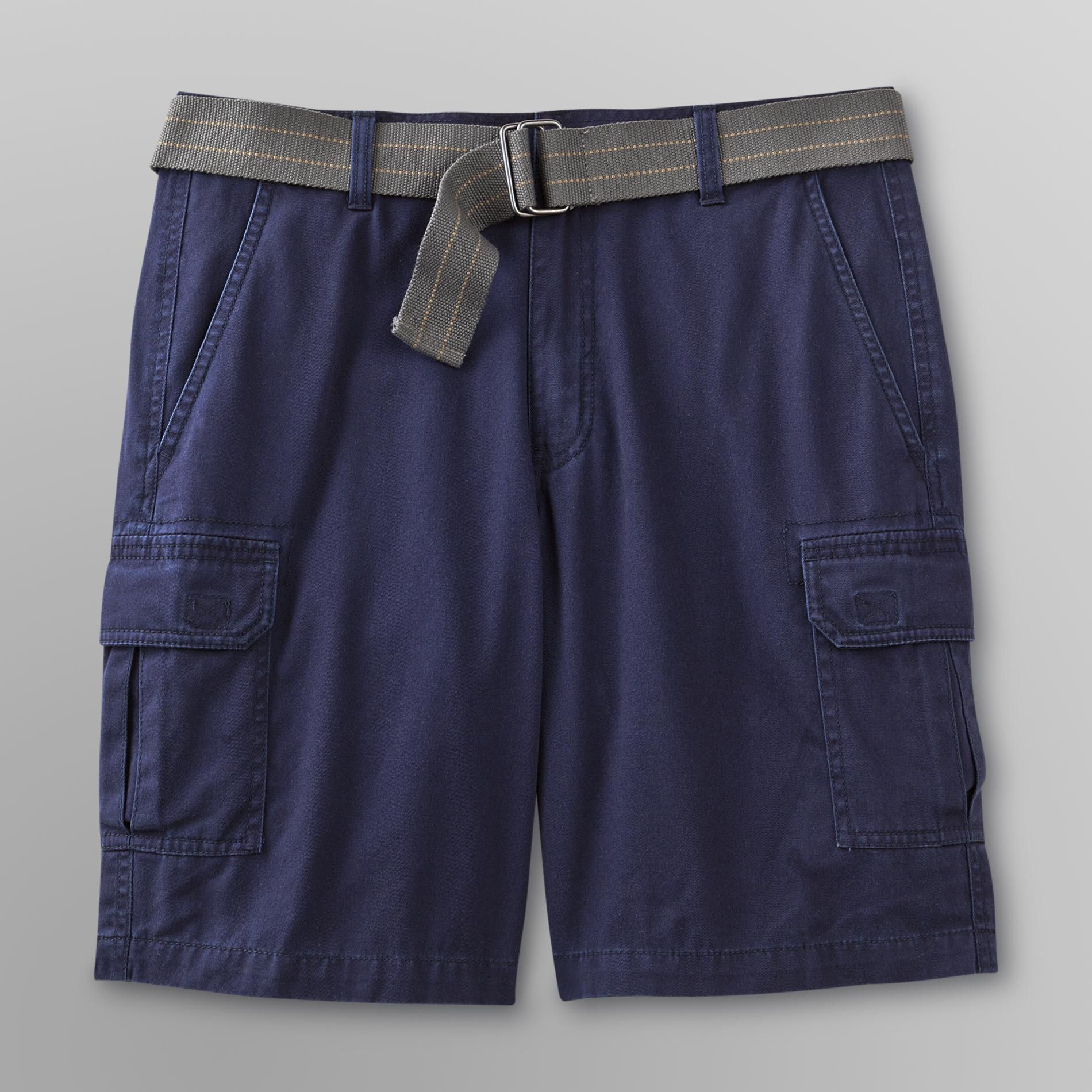 Basic Editions Men's Belted Cargo Shorts at Kmart.com