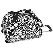 American Trunk & Case Radiance Club Bag  - Zebra at Kmart.com