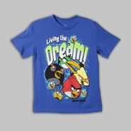 Angry Birds Boy's Graphic Tee 'Dream On' Short Sleeve at Sears.com