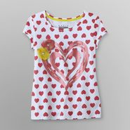 Basic Editions Girl's T-Shirt - Heart at Kmart.com