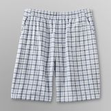 Basic Editions Men's Woven Shorts - Plaid at mygofer.com