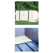 Bundle - Gable Steel Lawn Building (10 ft. x 6 ft.) With Floor Kit at Kmart.com