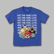 Angry Birds Boy's Shirt Just One More Level Short Sleeve at Sears.com