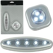 Super Bright™ Set of Three - 3 and 5 LED Touch Light Set w/ Mounts at Kmart.com