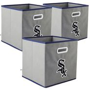 My Owner's Box Chicago White Sox MLB 3-pack Fabric Storage Drawer Set at Kmart.com