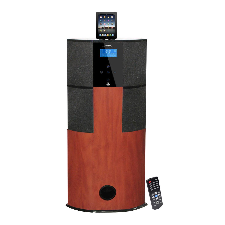 Pyle 600 Watt Digital 2 1 Channel Home Theater Tower W