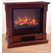 "Comfort Earth Crosby 28"" Electric Fireplace with Remote Control - Mahogony at Kmart.com"