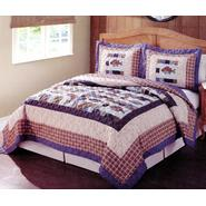 Cedar Creek Swimming Up Stream Twin Quilt with Pillow Sham at Kmart.com