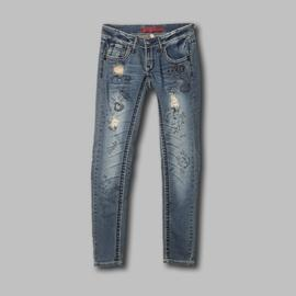 Bongo Junior's Jeans Destructed Doodling Blue at Sears.com
