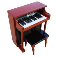 Schoenhut Mahogany/Black 25 Key Traditional Spinet w/ Bench at Sears.com