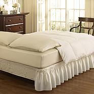 EasyFit™ Wrap Around Solid Ruffled Bed Skirt at Kmart.com