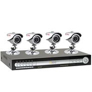 Q-See Q- See QT8DP-481-3 Clearance 8 Channel Security DVR with 4 CCD Cameras and Pre-installed 320GB Hard Drive at Kmart.com