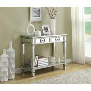 "Monarch Specialties Mirrored 38""L Sofa Console Table With 2 Drawers at Kmart.com"