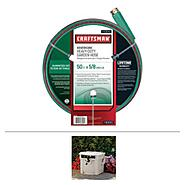 Bundle - Craftsman 50 Ft or 100 Ft Garden Hose With Garden Reel at Sears.com