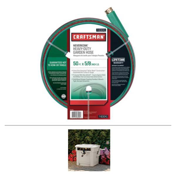 Craftsman 100ft Lifetime Warranty Garden Hose Tools
