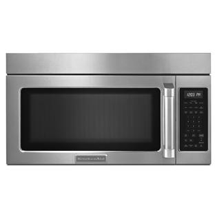 KitchenAid 1.8 cu. ft. Microwave Hood Combination Oven w/ Convection Cooking - Stainless Steel