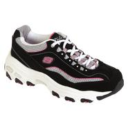 Skechers Women's D'Lites Centennial - Black/White/Pink at Sears.com